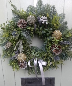 Nordic Forest Door Wreath