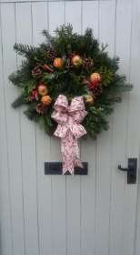 Traditional Luxury Door Wreath